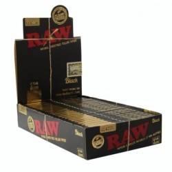 Raw Black 1 ¼ Box/24-50 Leaves