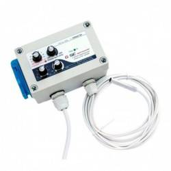 Controller temperatura y velocidad mín/máx. con histéresis