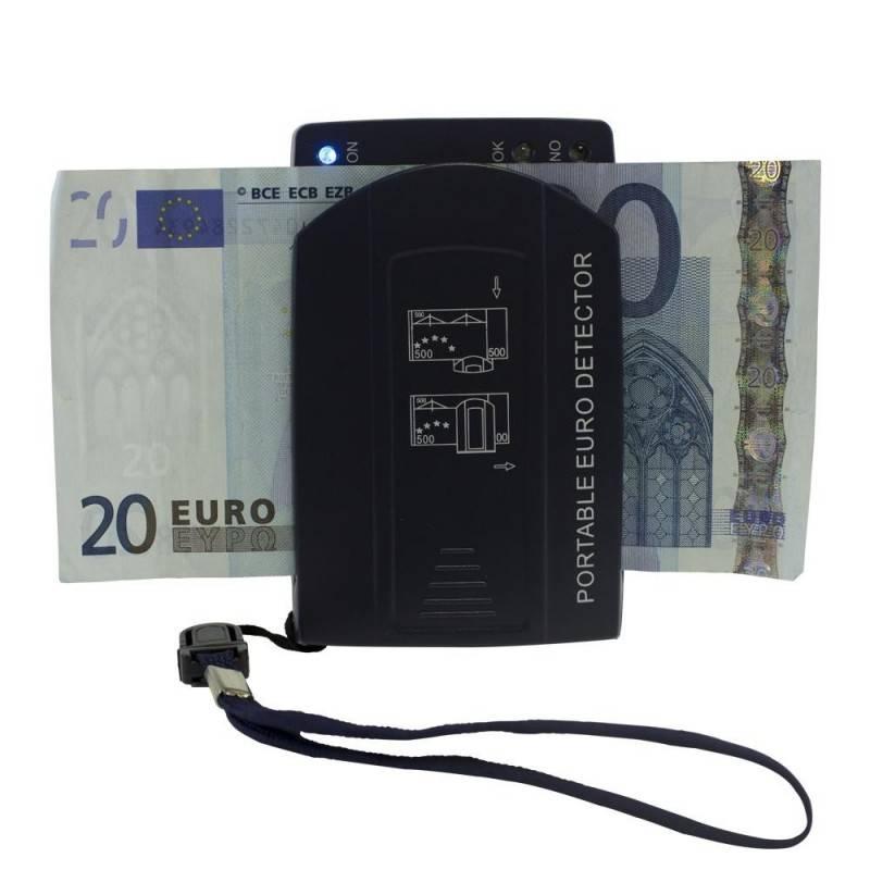 Detector de billetes falsos HE 50 portátil