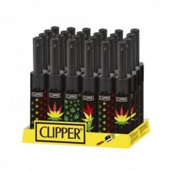 Caja Clipper Mini tube Leaves IX 24 uds