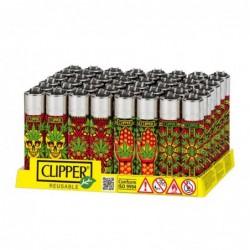 Caja Clipper Leaves Pattern II 48 uds