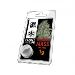 Critical Mass 10% CBD Solid Plant of Life 1gr