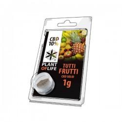 TuttiFrutti 10% CBD Solid Plant of Life 1gr