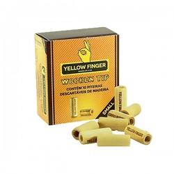 Filtro Yellow Finger Madera Small 15x6 mm 10 tips. Caja 20 u.