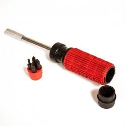 Camuflaje Destornillador Rojo 210 mm