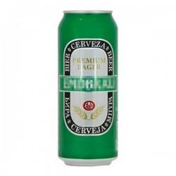 Camuflaje Lata Cerveza Grande Emdbrau con Liquido 0