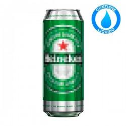 Camuflaje Lata Cerveza Heineken Grande con Liquido 0