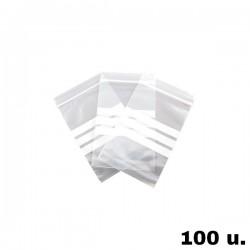 Bolsa Plastico Autocierre - 100 u.