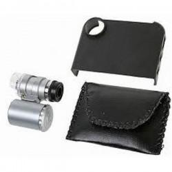 Adaptador Microscopio Mini Led 45x para Teléfono