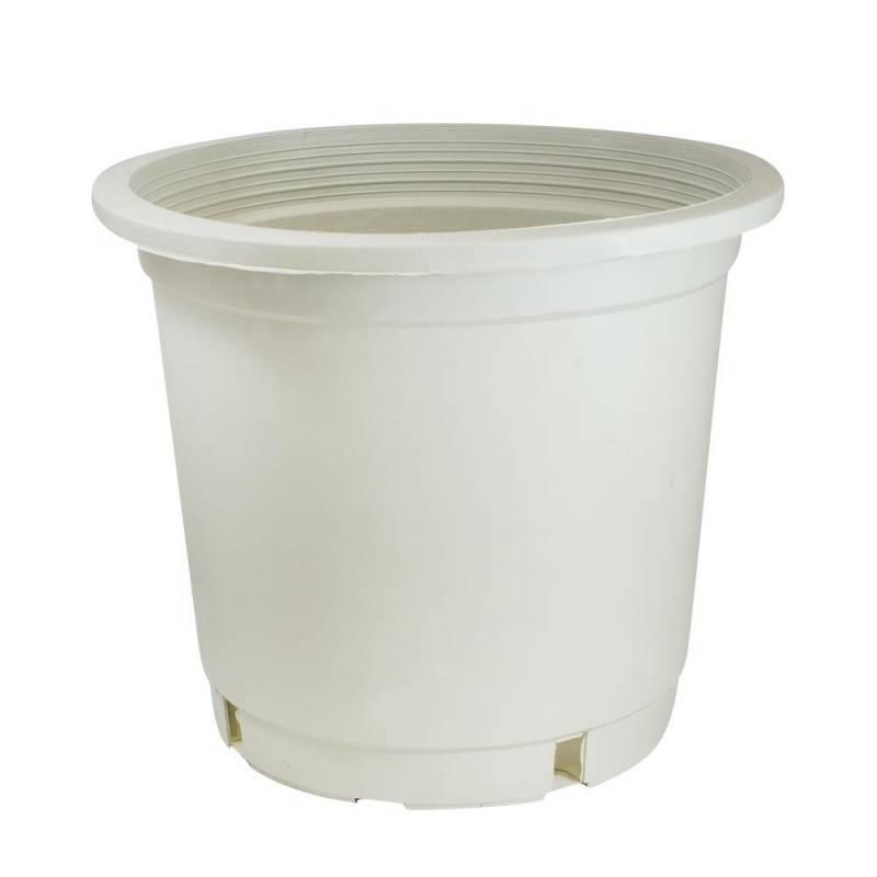 Maceta contenedor blanco