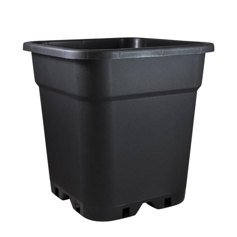 Maceta Negra reforzada