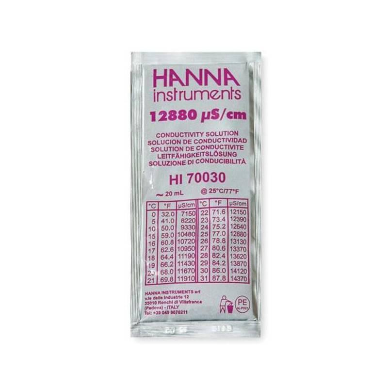 Sobre calibración EC Hanna HI 70030 12880µS (25 uds)
