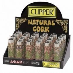 Caja Clipper Cork Leaves 24uds