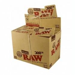 Raw 300 1. 43191 (caja de 40 librillos)