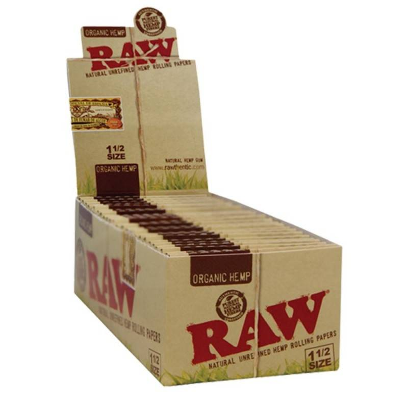 Raw Organics 1 43132 box/25 33leaves