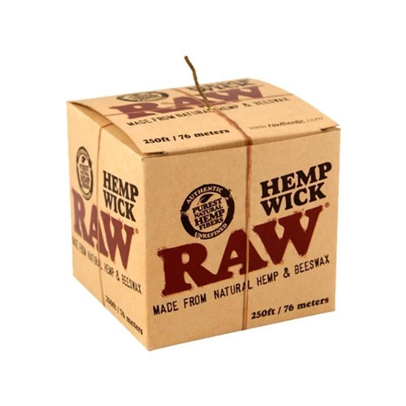 Raw Hemp Wick Ball 250 ft/76m