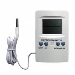 Termo higrómetro y reloj (con sonda)