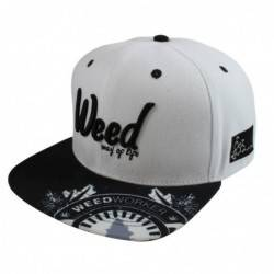 Gorra plana Way of life by WeedWorker