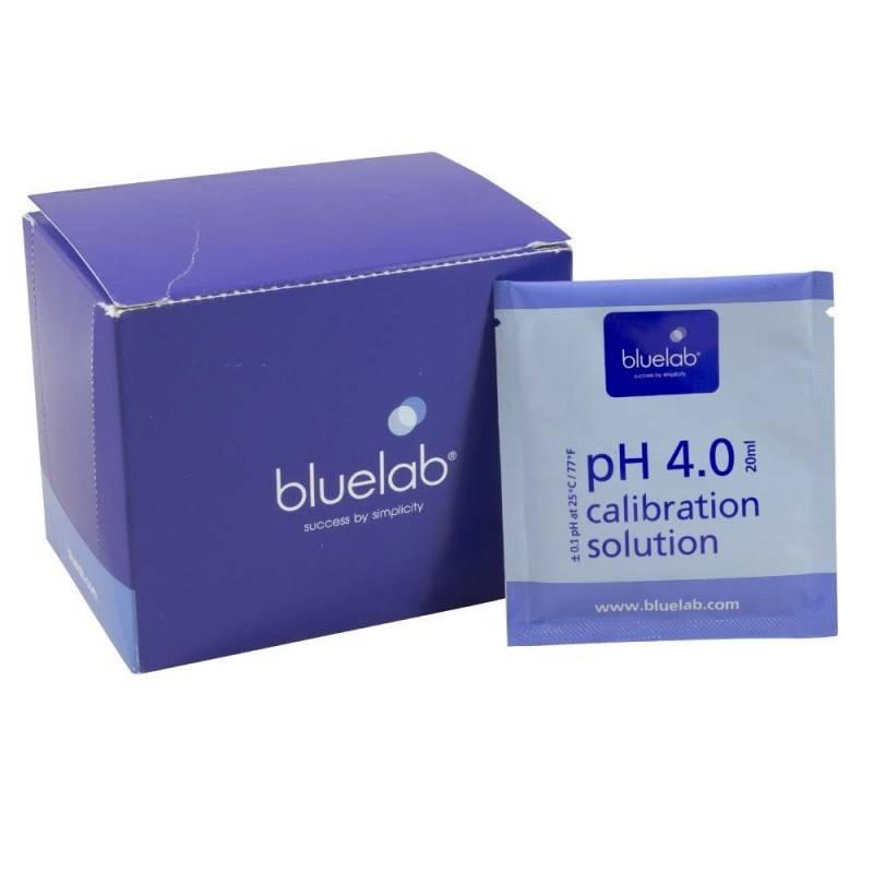 Caja Calibración pH 4.0 Bluelab