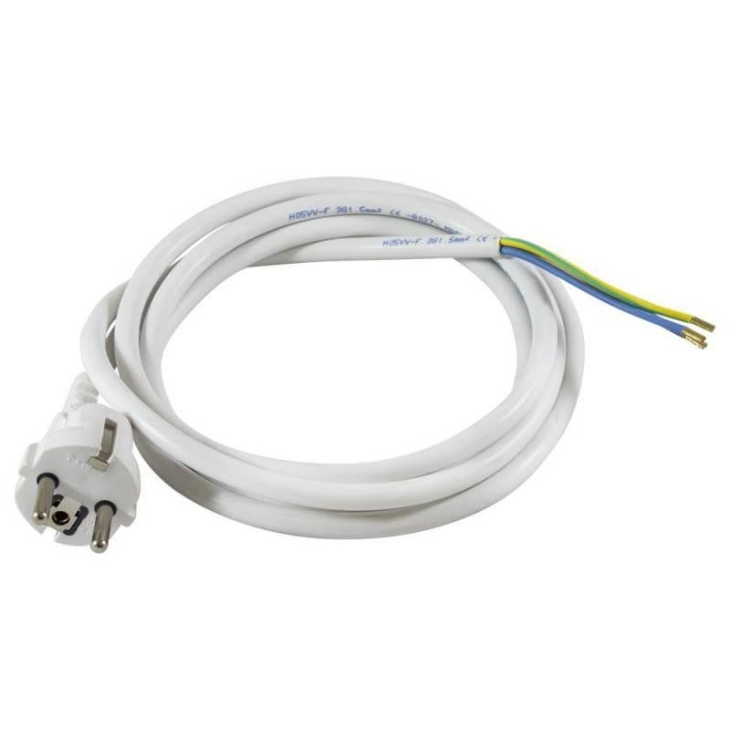 Cable con clavija inyectada IEC macho