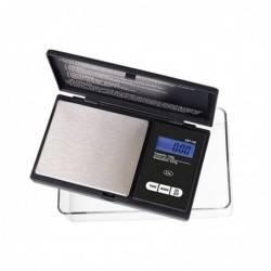 Báscula mini DZT-100-BK con bandeja (100x0