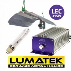 KIT LEC LUMATEK PLUS 315W CMH + REFLECTOR LUMII
